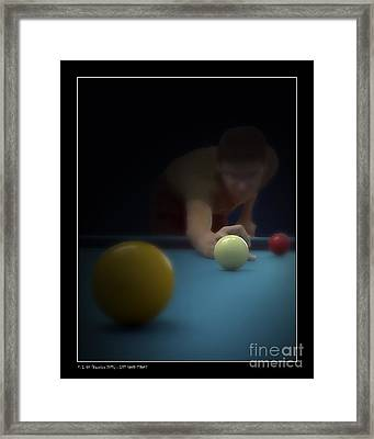 Left Hand Stroke Framed Print by Pedro L Gili