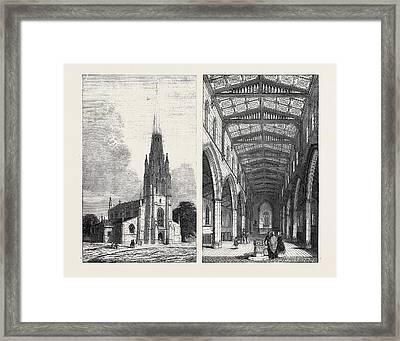 Left Image St. Marys New Church Framed Print