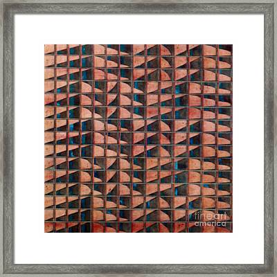 Left Is Right And Right Is Wrong S Framed Print by Jan Willem Van Swigchem