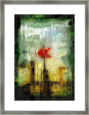 Left Framed Print by Jack Zulli