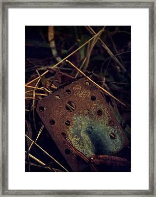 Left On The Floor Framed Print by Odd Jeppesen