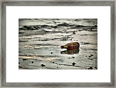 Left Over And Left Behind Framed Print by Syed Aqueel