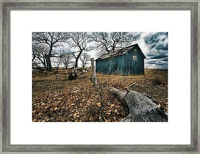 Left Framed Print by Thomas Zimmerman