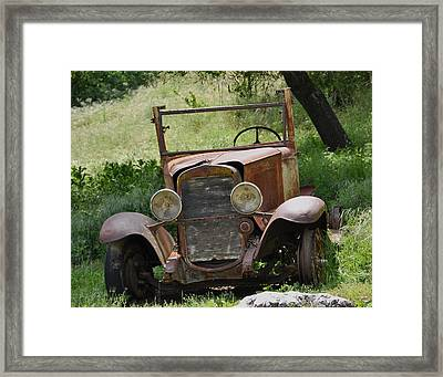 Left To Die Framed Print