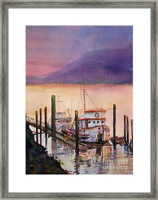 Left To Rust Framed Print by Sandy Linden