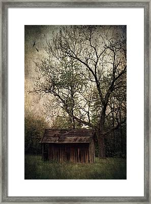 Left Untouched Framed Print by Dale Kincaid