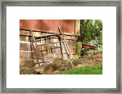 Leftover Framed Print by Andrea Dale