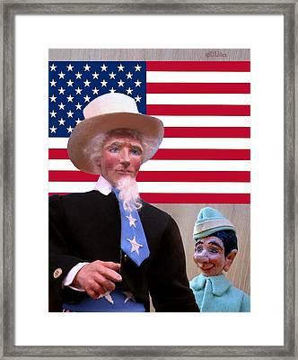 Lefty's Hero Framed Print by David Wiles