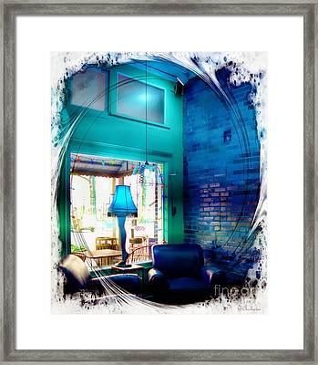 Leg Lamp Framed Print by Barbara Chichester