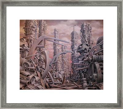Legacy Framed Print by Henry Potwin