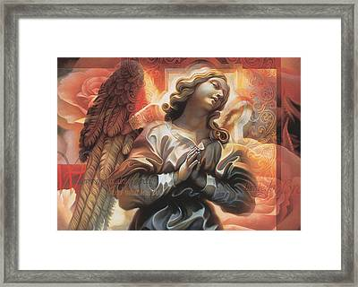 Framed Print featuring the painting Legacy by Mia Tavonatti