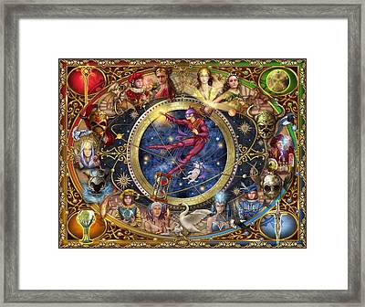 Legacy Of The Divine Tarot Framed Print