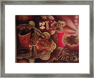 Legacy..to Be King Framed Print