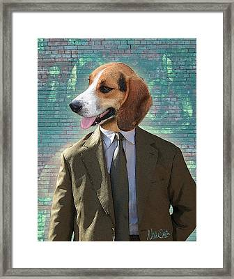 Legal Beagle Framed Print
