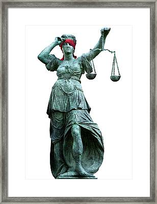 Legal Objectivity Framed Print by Smetek