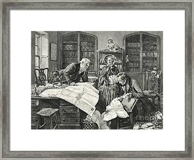 Legal Point 1903 Framed Print by Padre Art