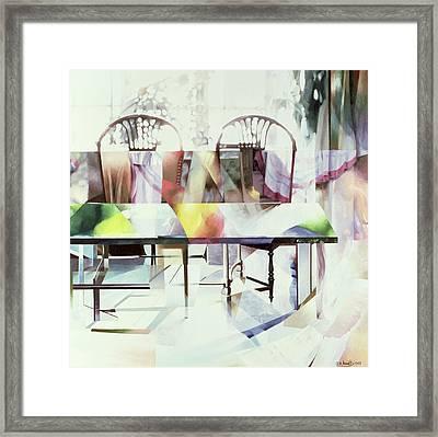 Legato Framed Print by Jeremy Annett