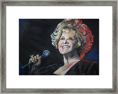 legend Brenda Lee Framed Print
