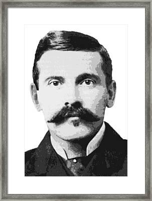 Legend Doc Holliday Framed Print
