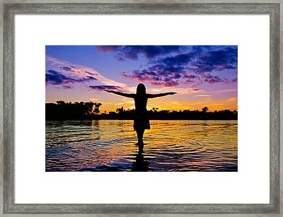Legend Framed Print by Laura Fasulo