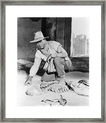 Legend Of The Lost, John Wayne, 1957 Framed Print
