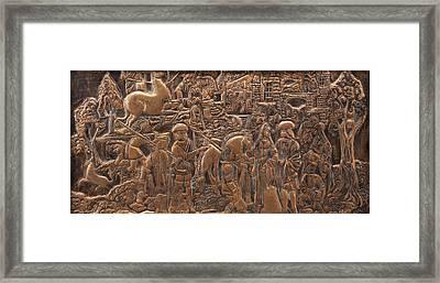 Legend Of The Unicorn Framed Print by Robin Dodge