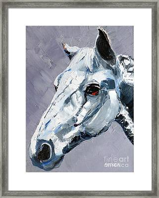 Legend Framed Print by Susan A Becker