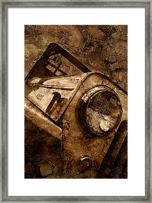 Legendary Jeep Willys Framed Print