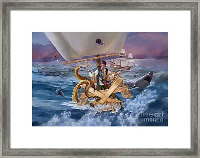 Legendary Pirate Framed Print