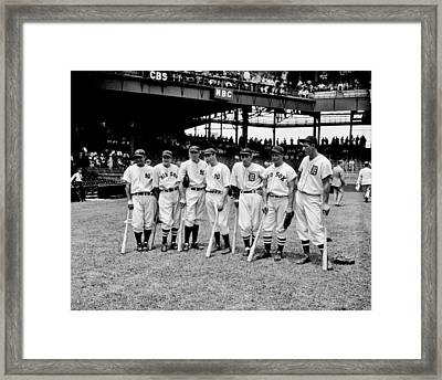 Legends Framed Print by Benjamin Yeager