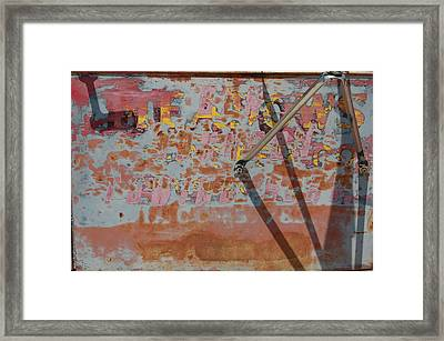 Legible Framed Print by Jame Hayes