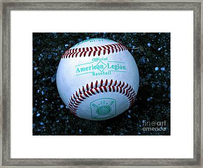 Legion Baseball Framed Print