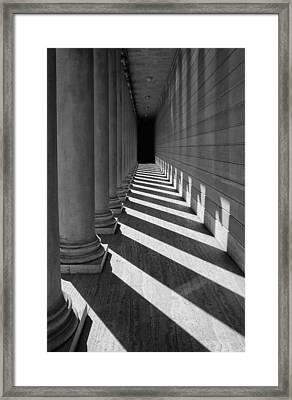 Legion Breezeway Framed Print