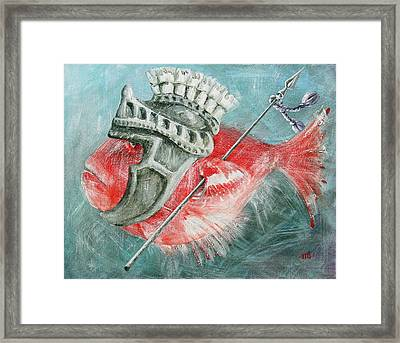 Legionnaire Fish Framed Print