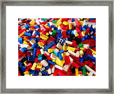 Lego - From 4 To 99 Framed Print