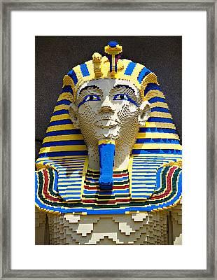 Lego Pharoah Framed Print