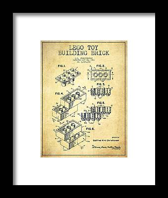 Patent Application Framed Prints