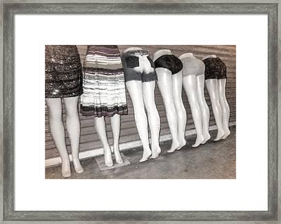 Legs 847b Framed Print by Rudy Umans