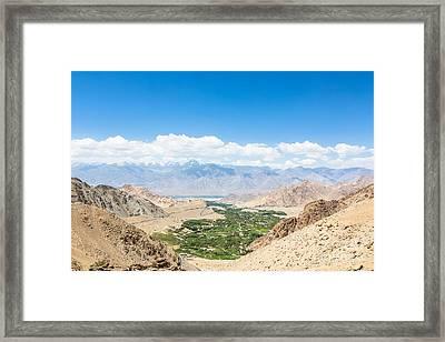 Leh Valley Framed Print by Didier Marti