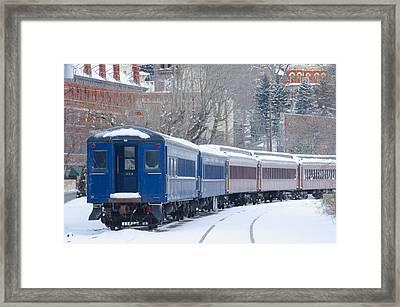 Lehigh Gorge Scenic Railway Framed Print by Bill Cannon