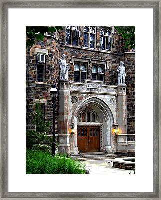 Lehigh University Bethlehem Packard Laboratory Framed Print