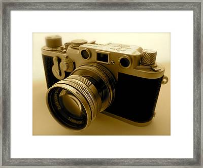 Leica Classic Film Camera Framed Print
