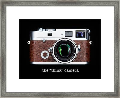 Leica M7 Framed Print by Dave Bowman