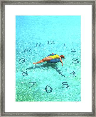 Leisure Time Framed Print by Smetek