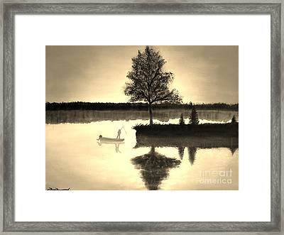 Leisure Time Framed Print by Tim Townsend
