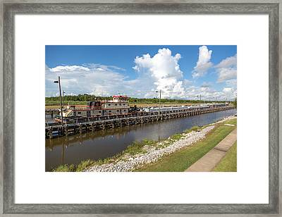 Leland Bowman Locks 1 Framed Print