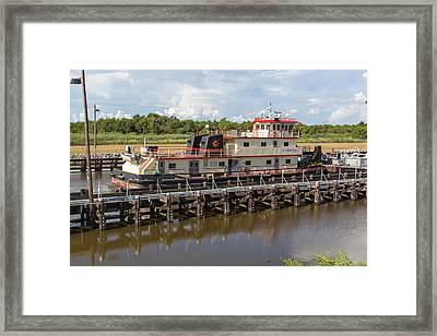 Leland Bowman Locks 3 Framed Print