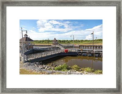 Leland Bowman Locks 4 Framed Print