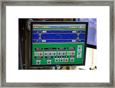 Leland Bowman Locks Controls Framed Print