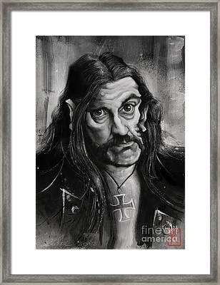 Lemmy Framed Print by Andre Koekemoer